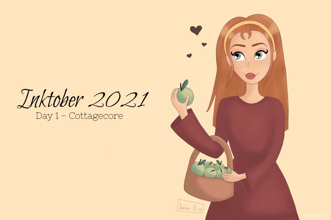 Inktober 2021 - Day 1 Cottagecore